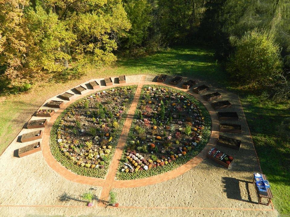 Grădina terapeutică la Spitalul de Psihiatrie din Căpâlnaş